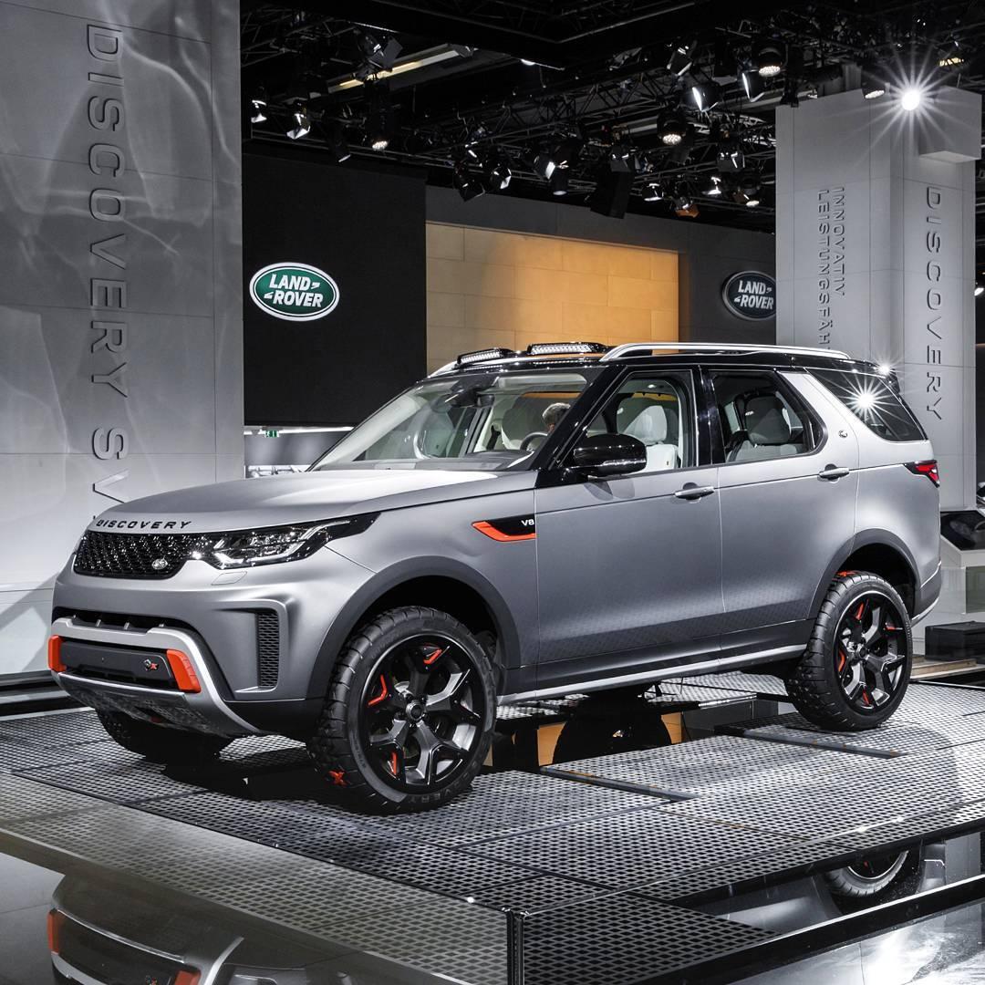 2018 Land Rover Discovery Sport Hse Road Test: Land Rover Discovery SVX 2018: Versão Extrema é Apresentada