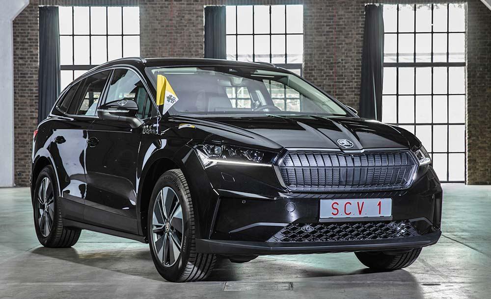 Škoda Enyaq recebeu adaptações especiais